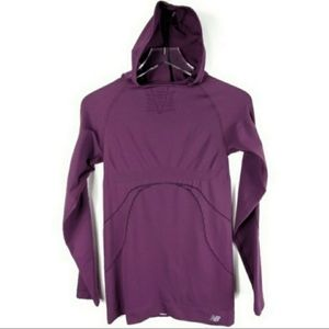 New Balance Hooded Performance Top Long Sleeve